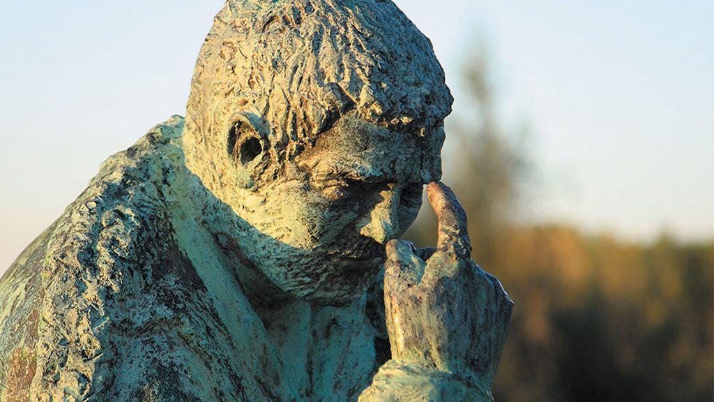 Alcalá de Ebro escultura de Sancho Panza