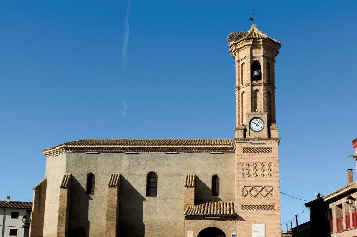 Iglesia San Pedro Mártir de Verona en Pinseque
