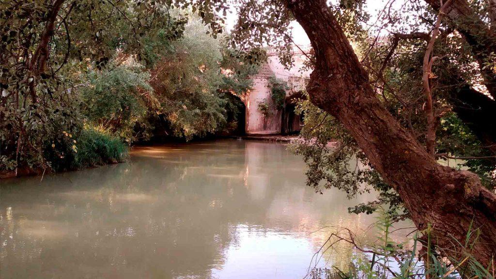 Río Jalón a la altura de el Caracol
