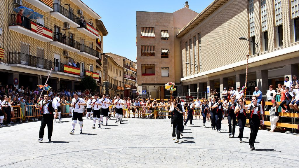 Gallur_Baile de la plaza