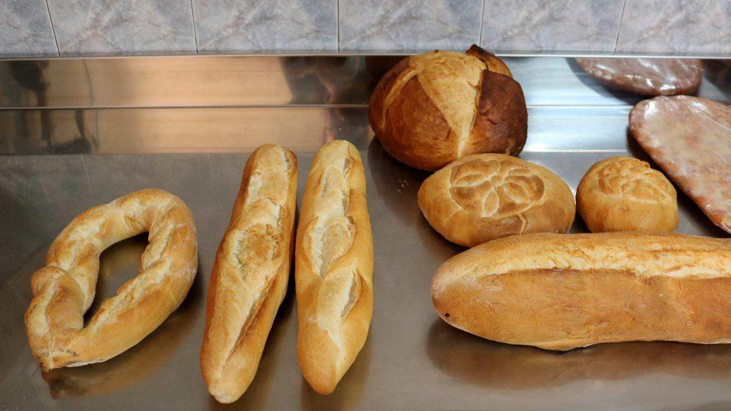 Productos panaderos del Horno de Pinseque