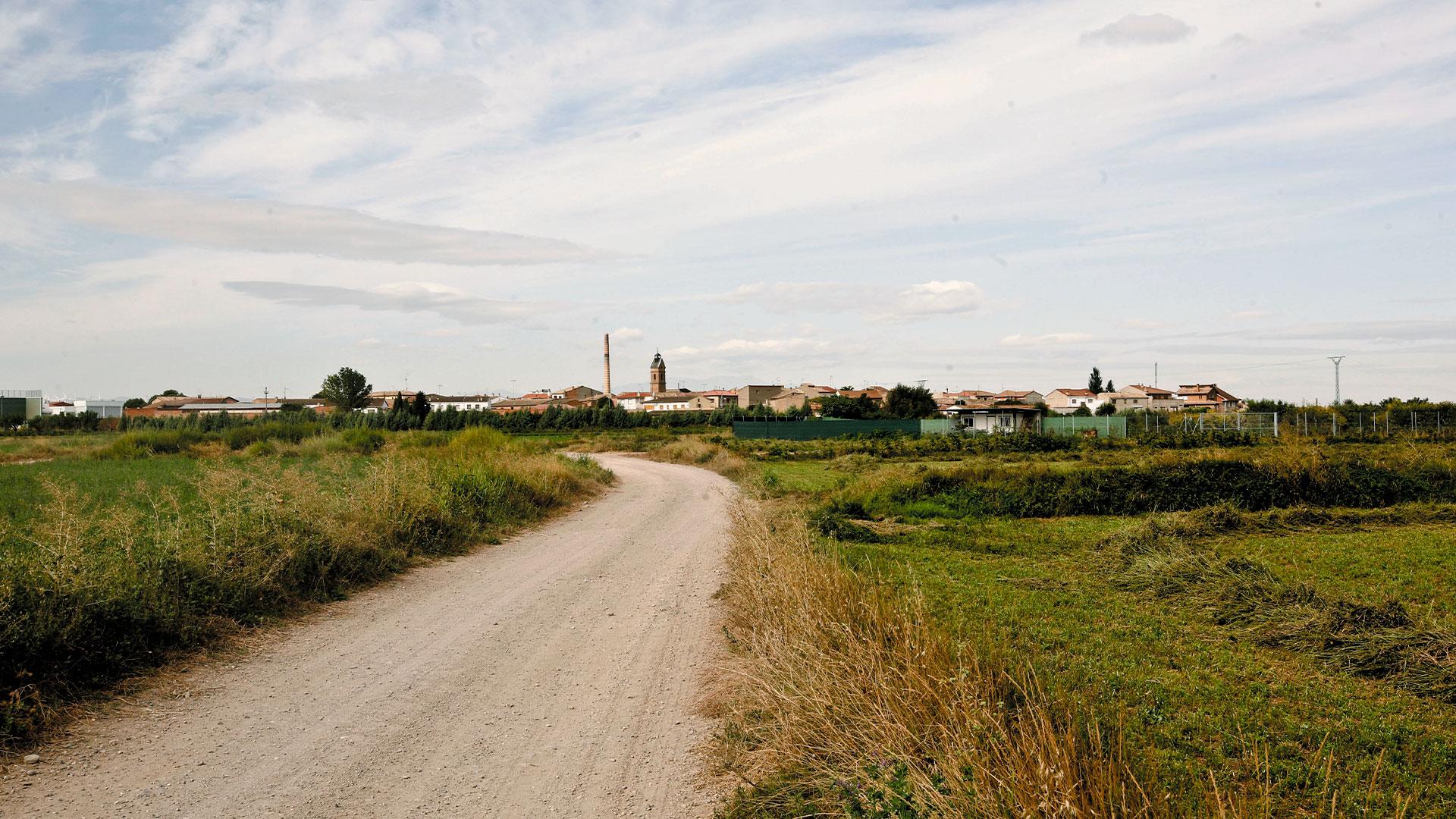Camino Luceni vista