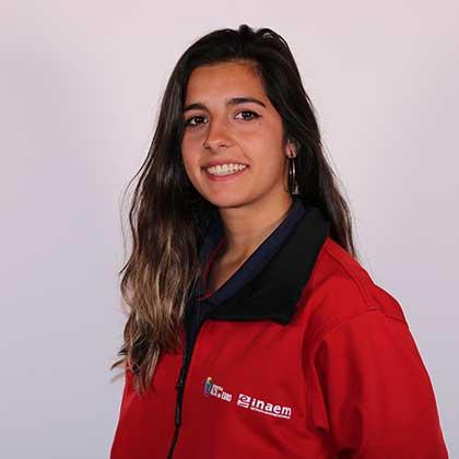 Alba Colás Sarasa miembro del proyecto de Recursos Digitales para la Comunicación Turística y Cultural de la Escuela Taller Ribera Alta del Ebro III