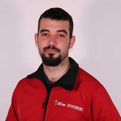 Carlos Lafuente Tomás miembro del proyecto de Recursos Digitales para la Comunicación Turística y Cultural de la Escuela Taller Ribera Alta del Ebro III