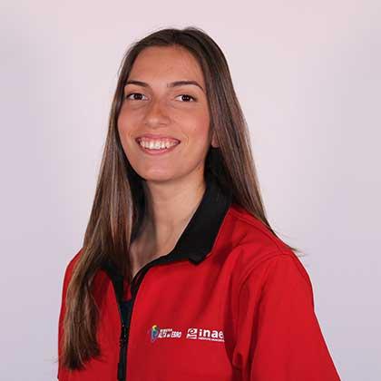 Claudia Pellegero García miembro del proyecto de Recursos Digitales para la Comunicación Turística y Cultural de la Escuela Taller Ribera Alta del Ebro III