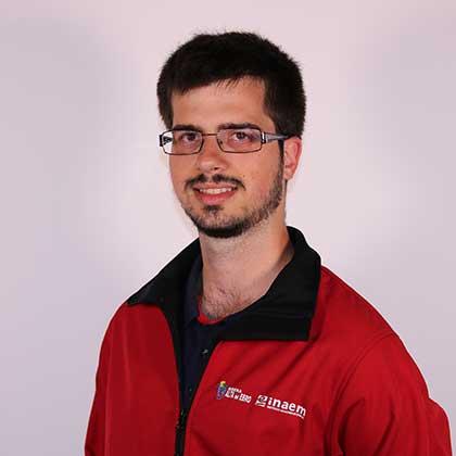 David Cañal Álvarez miembro del proyecto de Recursos Digitales para la Comunicación Turística y Cultural de la Escuela Taller Ribera Alta del Ebro III