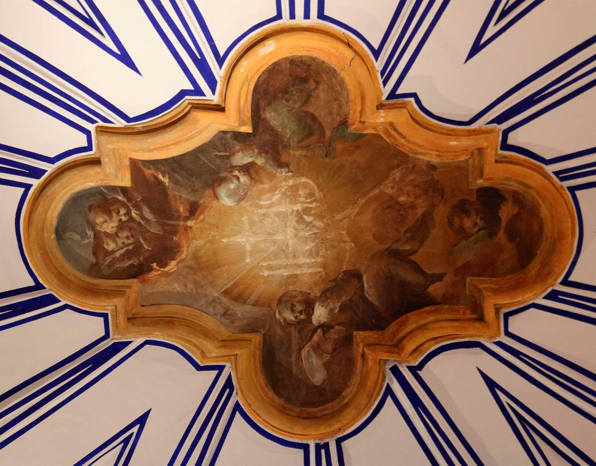 Pintura de Goya en el antiguo Colegio de San Antonio