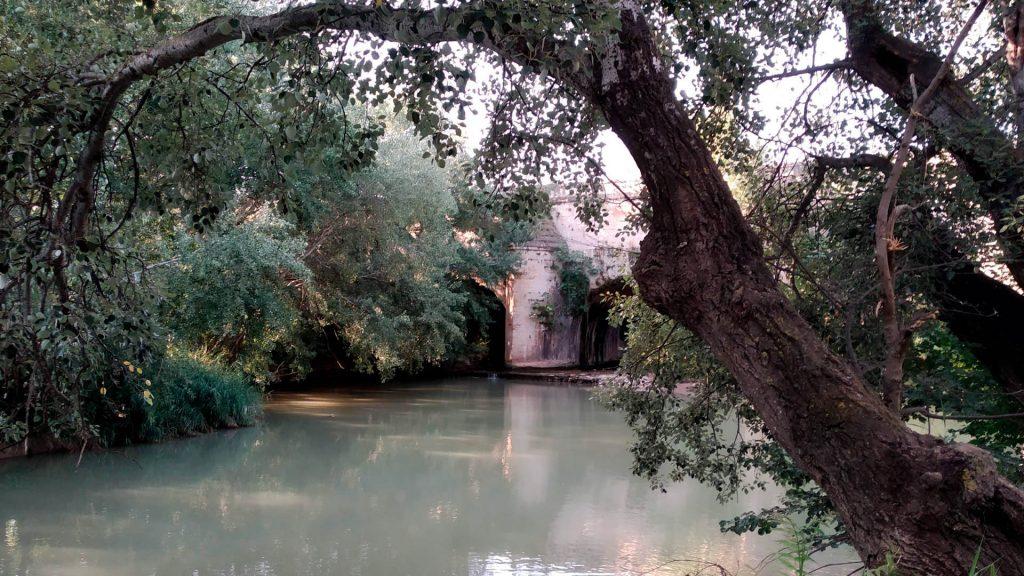 Las murallas de El Caracol y el Canal Imperial.