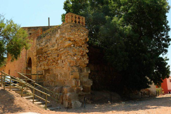 restos del castillo musulmán de Alcalá de Ebro