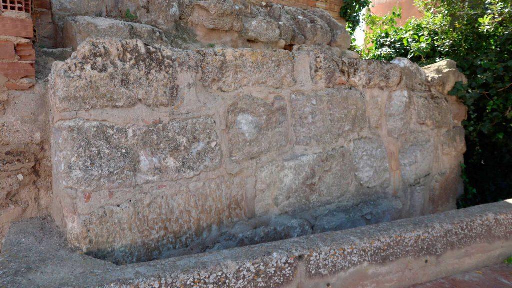 restos romanos castellum cabañas de ebro