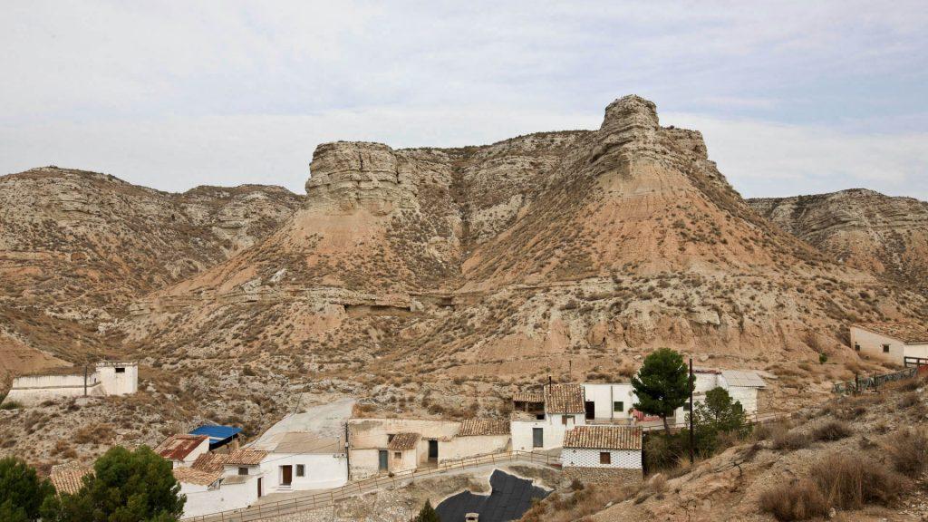 El pueblo de Remolinos en la Ribera Alta del Ebro.