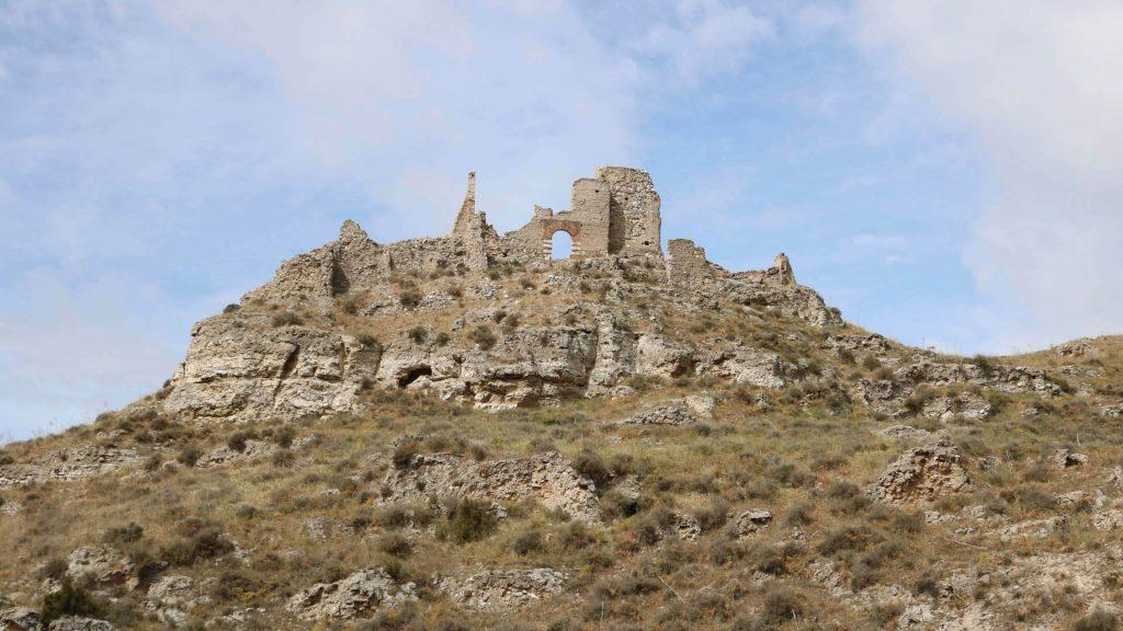 Vistas del castillo de El Castellar de Torres de Berrellén.