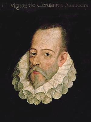 Retrato Cervantes