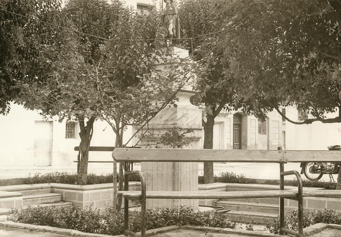 Imagen de Larraz de la fuente de San Roque en Pedrola
