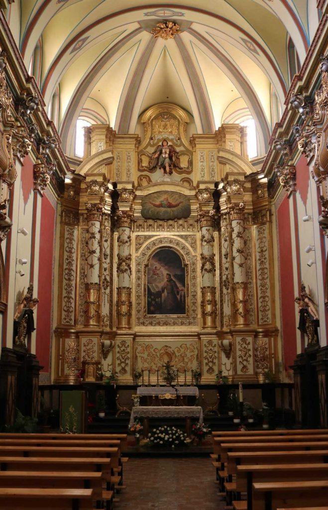 Retablo de la iglesia de San Antonio de Padua en Alagón