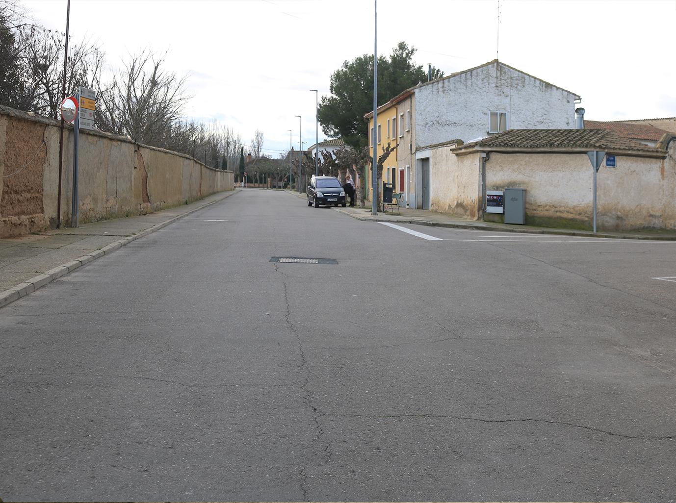 Imagen actual en avenida Diputación en Pedrola
