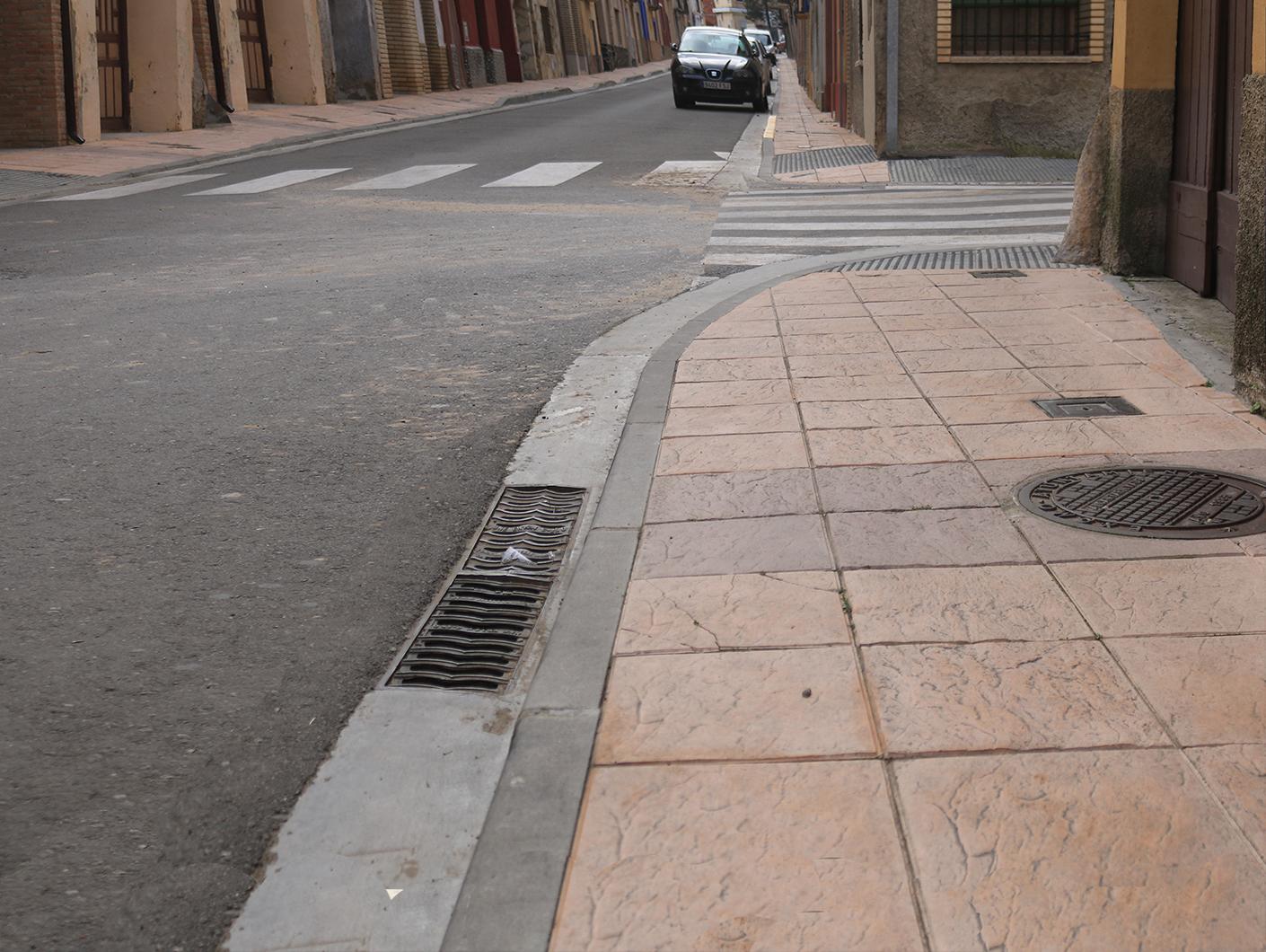 Imagen actual de la fuente en calle Barrio Nuevo en Pedrola