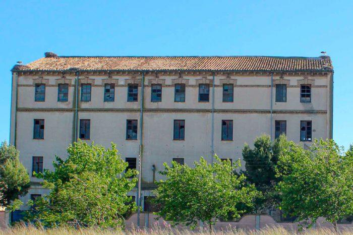 Fábrica de harinas de Tomás Aguilar Soler en Gallur.