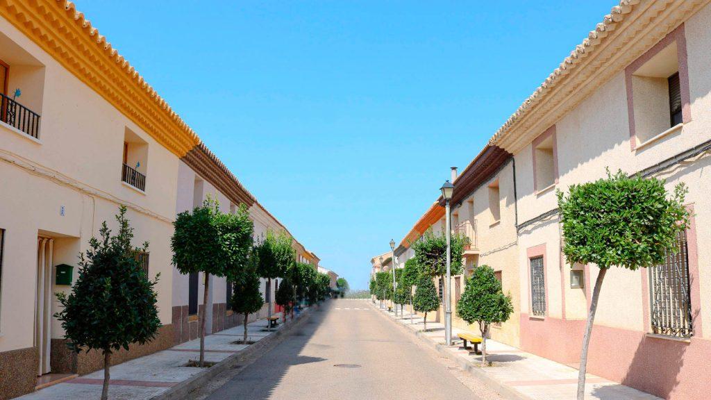 casas de colonización en la joyosa y marlofa