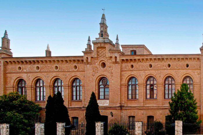 Antiguo hospital de la Fundación Almau en Pedrola.