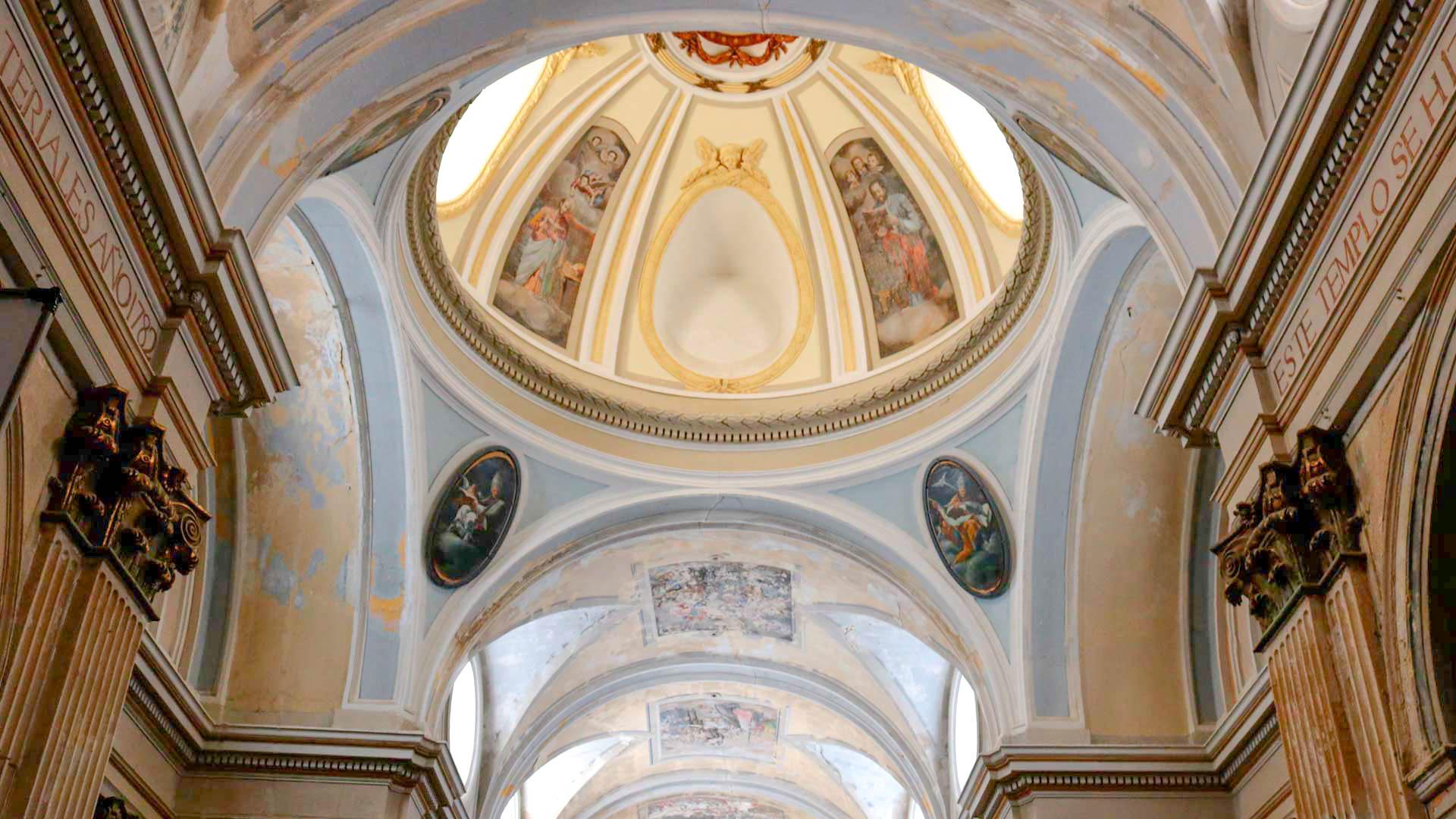 Remolinos pechinas Iglesia