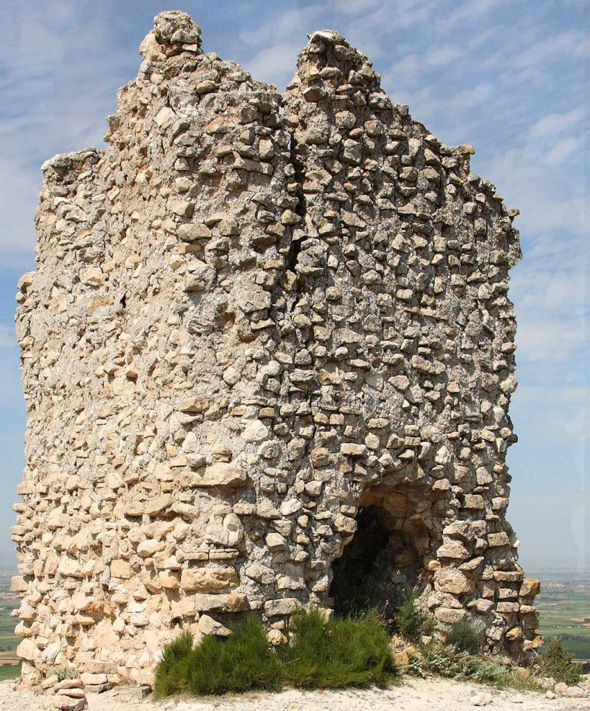 Vista de la Torre de Candespina en Sobradiel
